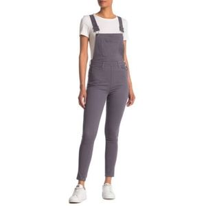 🆕WEWOREWHAT High Rise Skinny Overalls-XS